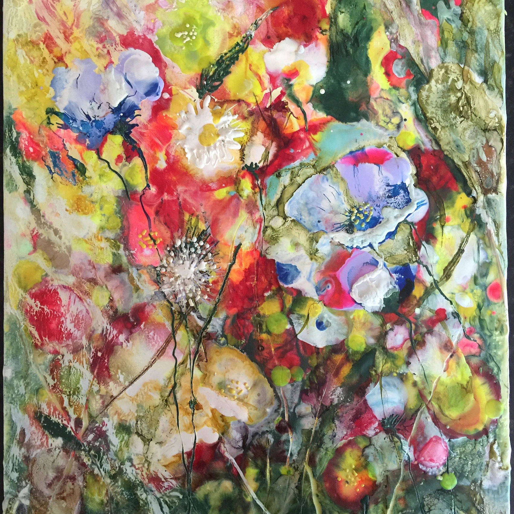 Encaustic art workshop visit bala - How warm does it have to be to paint outside ...
